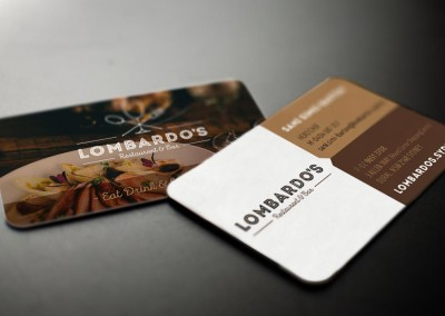 Business card sample Lombardoes