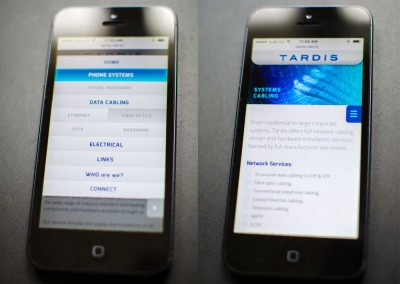 Tardis-website-phone-samples