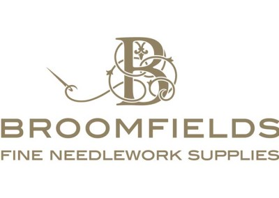 Broomfield's Fine needlework Supplies logo & motif